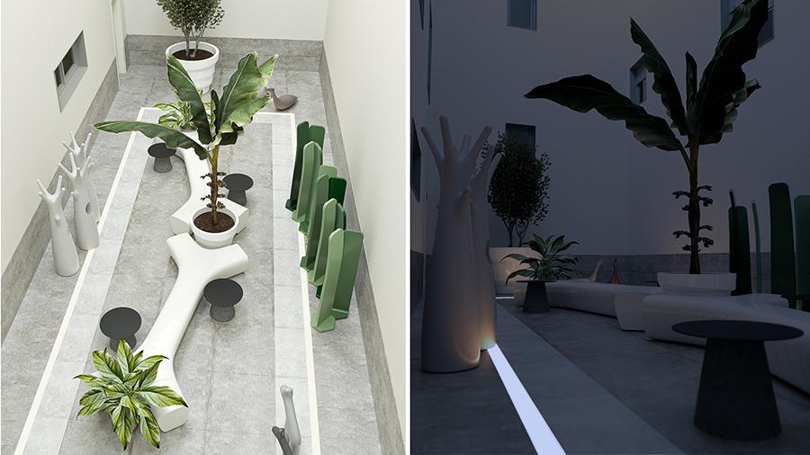 jardin-interior-cadea-residencial-oviedo-carredoria
